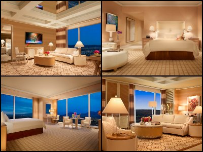 Rooms at Wynn Hotel in Las Vegas
