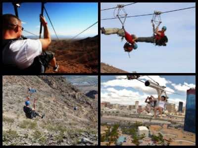 Zipline tours in Las Vegas